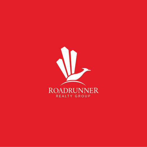 Roadrunner design with the title 'RoadRunner Realty Group'
