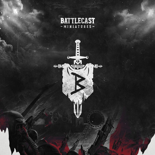 War design with the title 'Battlecast Miniatures'