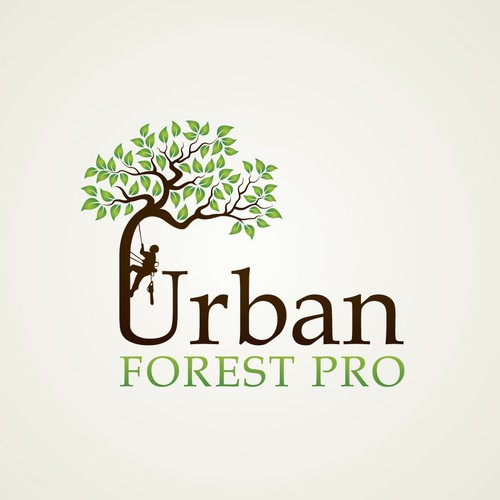 Mature logo with the title 'Urban Forest Pro'