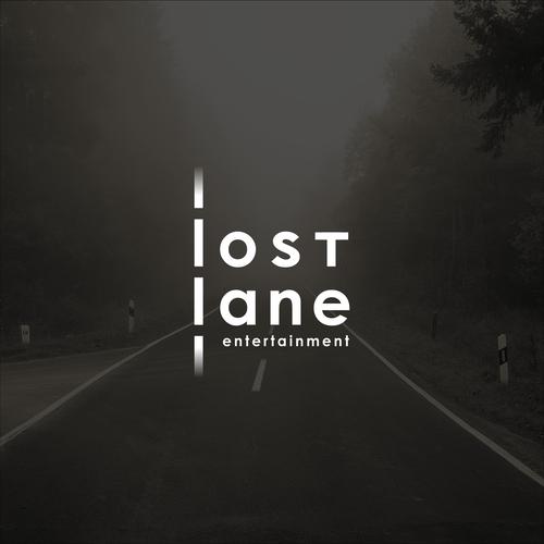 Entertainment logo with the title 'Lost Lane Entertainment Logo'