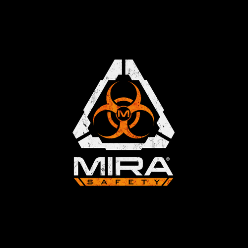 Tactical logo with the title 'Logo design for Mira Safety'