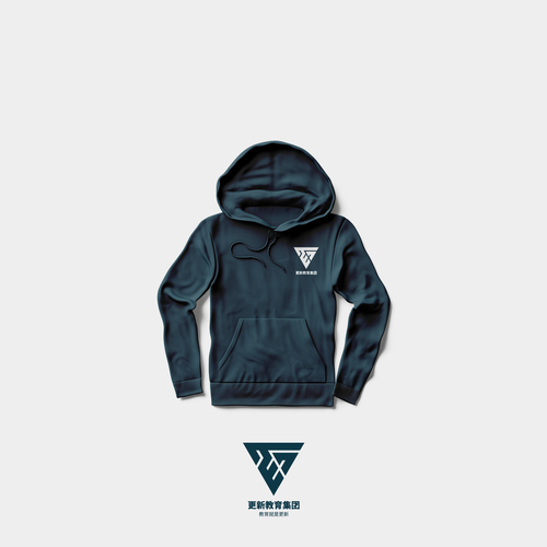 Uniform logo with the title 'TEG Print Hoodie Concept'