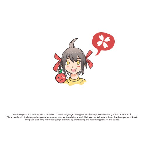 Manga logo with the title 'Manga'