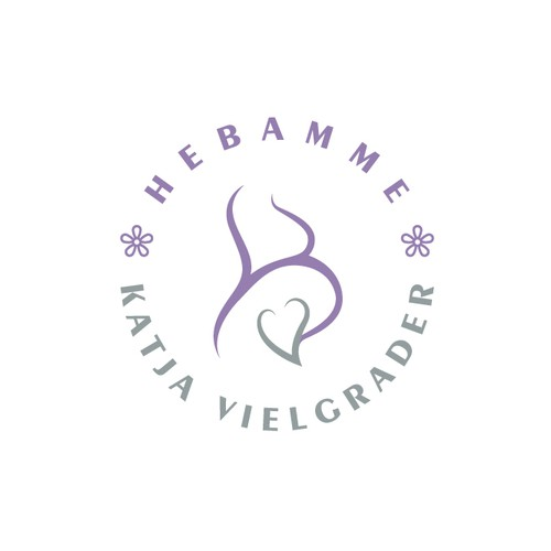 Birth logo with the title 'Logo Hebamme'
