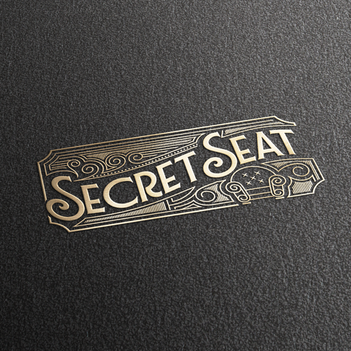 Swirl design with the title 'Secret Seat'