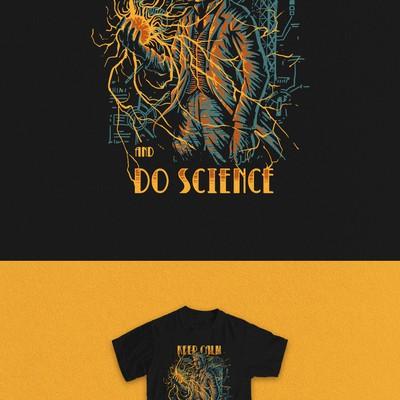 keep calm-do science
