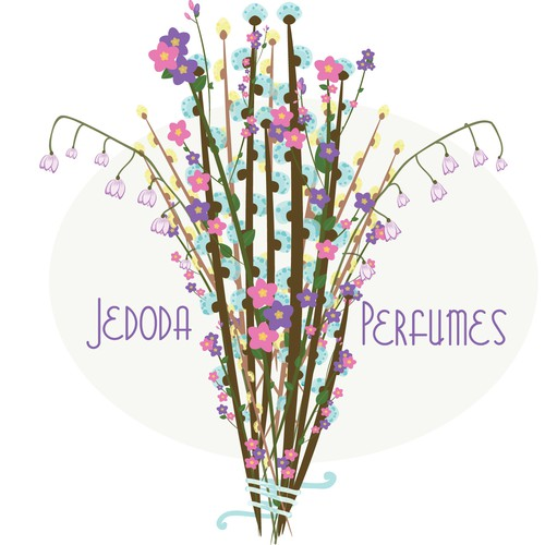 Bouquet design with the title 'Jedoda Flower Arrangement'