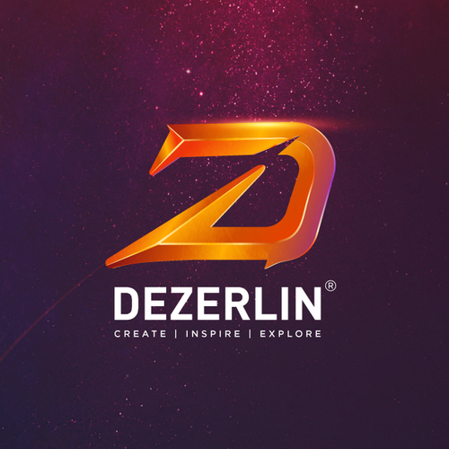 Animation brand with the title 'DeZerlin media'
