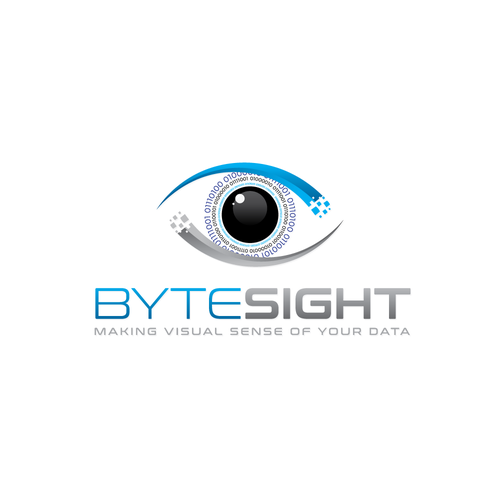 Visual logo with the title 'bytesight logo'