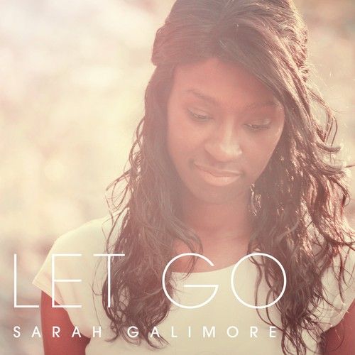 CD cover design with the title 'CD Cover 'LET GO' album cover by Sarah Gallimore'