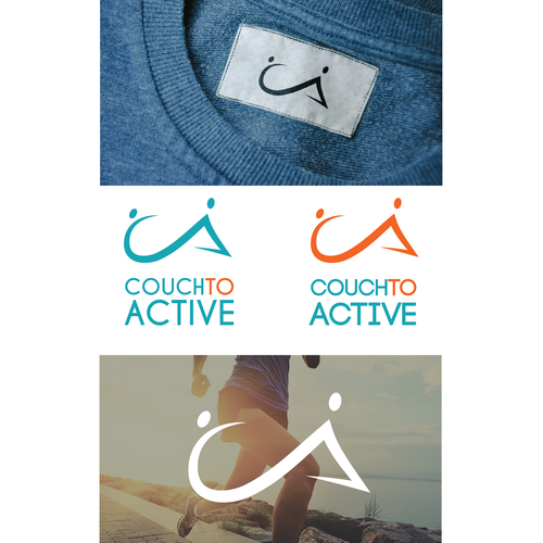 Exercise logo with the title 'Couch to Active'
