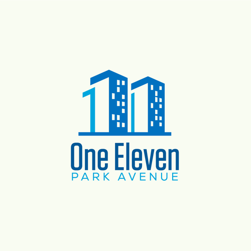 Number logo with the title 'One Eleven Logo'