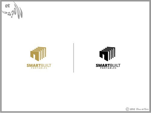 Portal design with the title 'Modern, Smart logo for a building mfg (follow up work may be possible)'