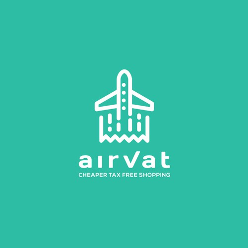 Aviator logo with the title 'AirVat'