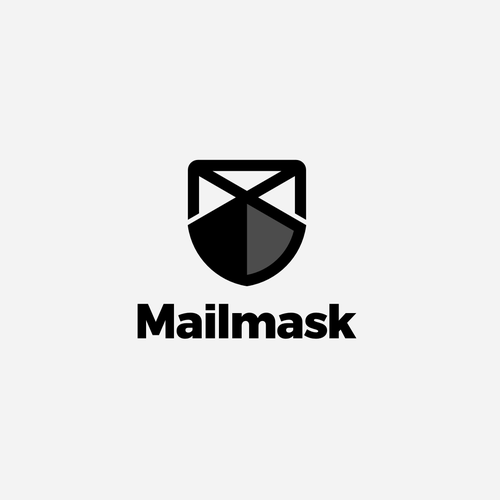 Mail design with the title 'Mailmask'
