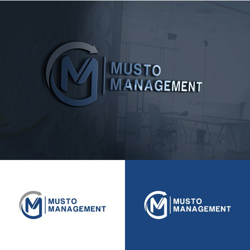 Consultant logo with the title 'Clean Logo for Musto Management.'