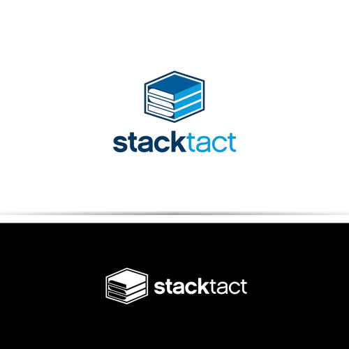 Server logo with the title 'New logo wanted for StackTact'