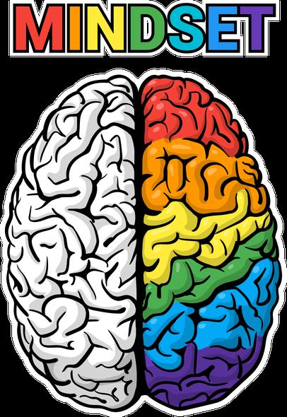Brain illustration with the title 'Art Brain'