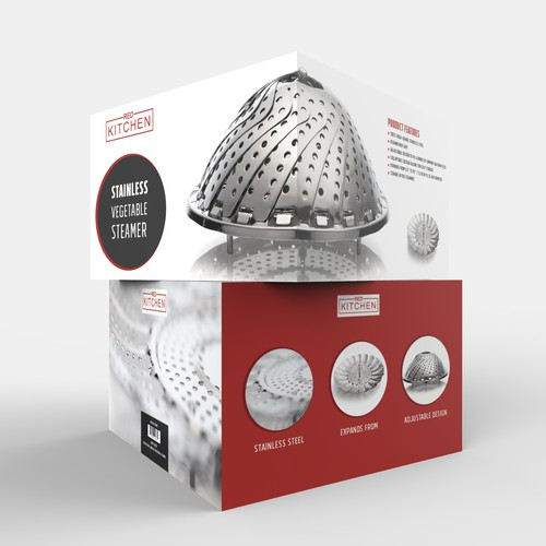 Cool packaging with the title 'kitchen'