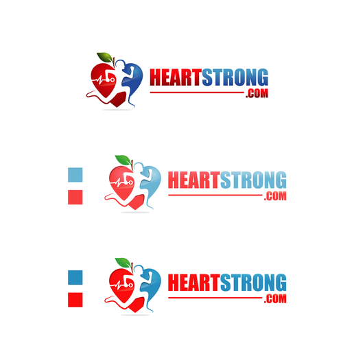 Pencil brand with the title 'heart strong'