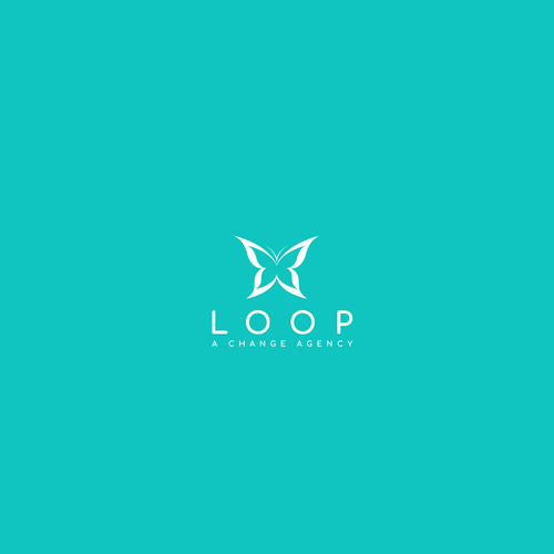 Aqua brand with the title 'Logo for Loop'