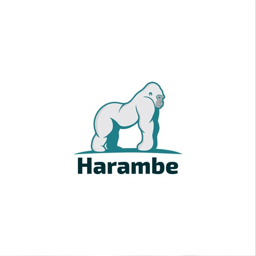 Zoo logo with the title 'logo for harambe '