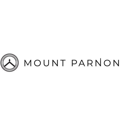 Torch design with the title 'Mount Parnon Logo'