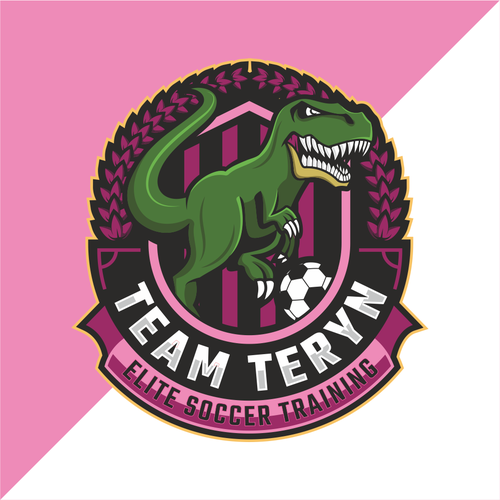 T-rex logo with the title 'Team Teryn'