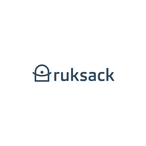 Backpack logo with the title 'Logo for Ruksack'