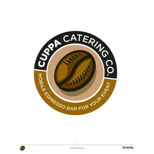 Coffee bar design with the title 'Coffee logo'