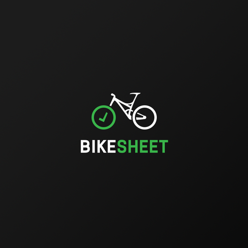 Mechanic design with the title 'Bike Sheet'