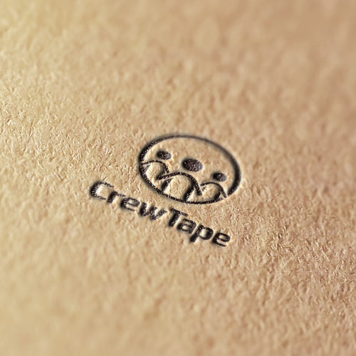 Crew logo with the title 'Logo concept for CrewTape'