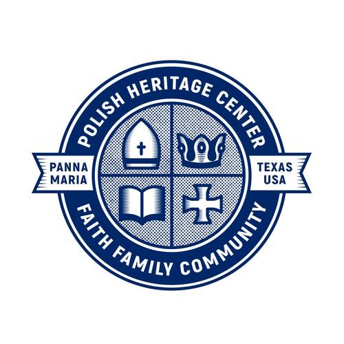 Faith logo with the title 'POLISH HERITAGE CENTER'