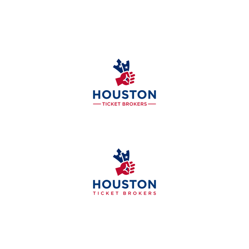 Houston design with the title 'Houston Ticket Brokers'