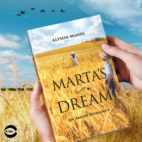 """Novel book cover with the title 'Book cover for """"Marta's Dream"""" by Alyson Manes'"""