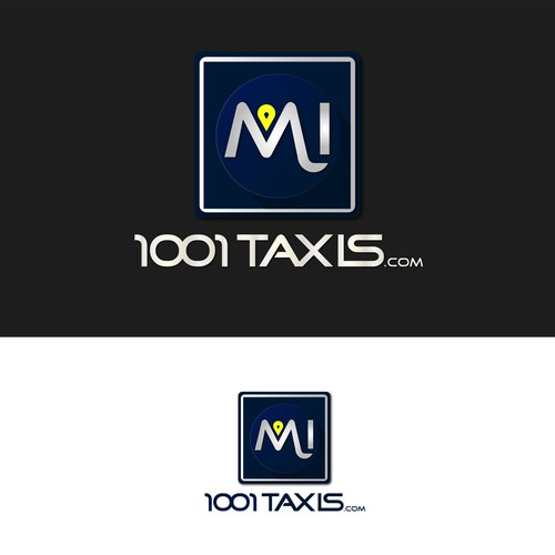Taxi logo with the title 'logo VTC/taxis'