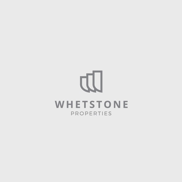 W design with the title 'Logo for real estate agency'