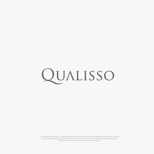 Kitchenware design with the title 'Logo for Qualisso'
