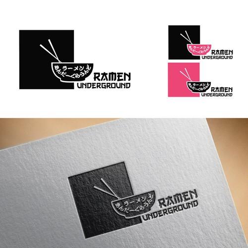 Noodle design with the title 'Ramen Underground'