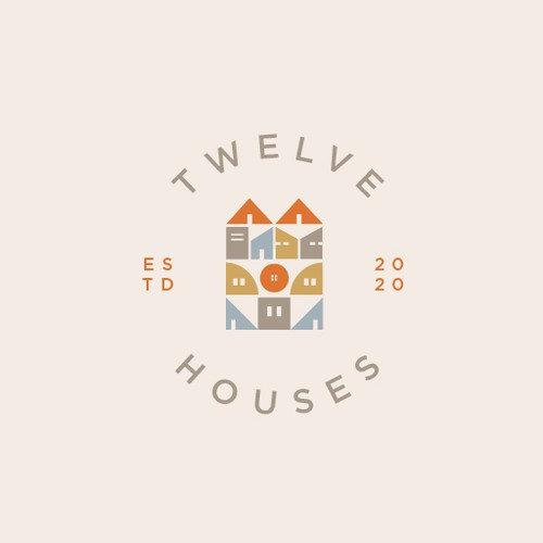 Number design with the title 'Twelve Houses'