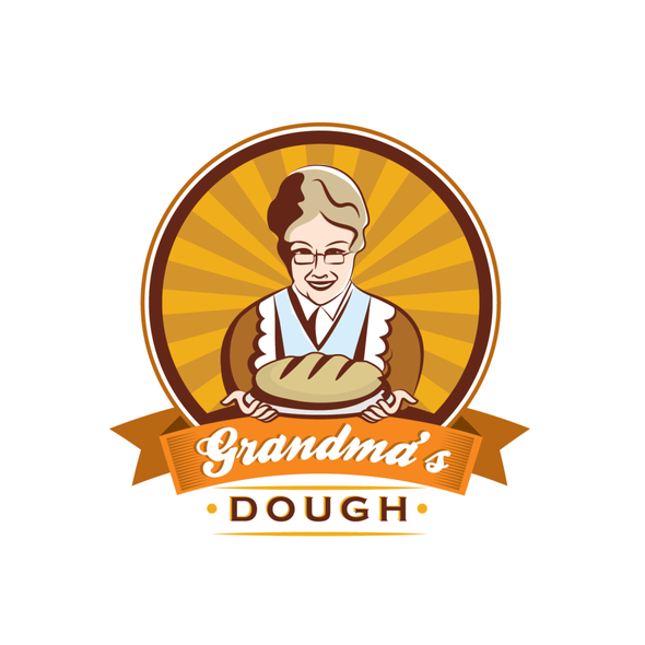 Grandma logo with the title 'Logo for sale'