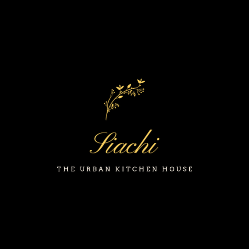 Cafeteria design with the title 'Luxurious Logo Design for a Food Cafe'