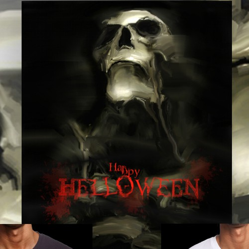 Horror t-shirt with the title 'Helloween t-shirt '