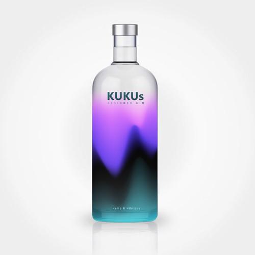 Vodka packaging with the title 'vodka bottle design'