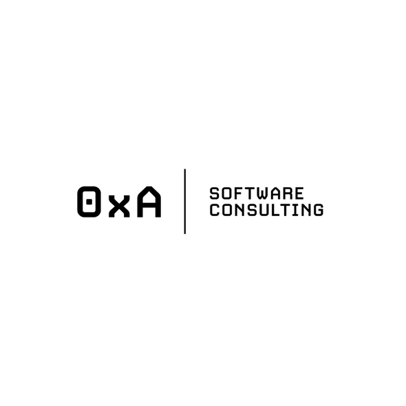 Technology brand with the title 'Logo design for 0xA   Highly Technical Cloud and Development Consultant'
