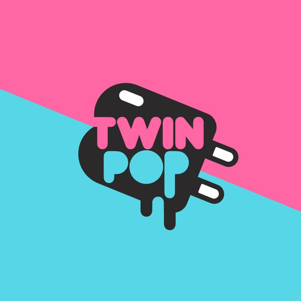 Pop logo with the title 'twinpop'