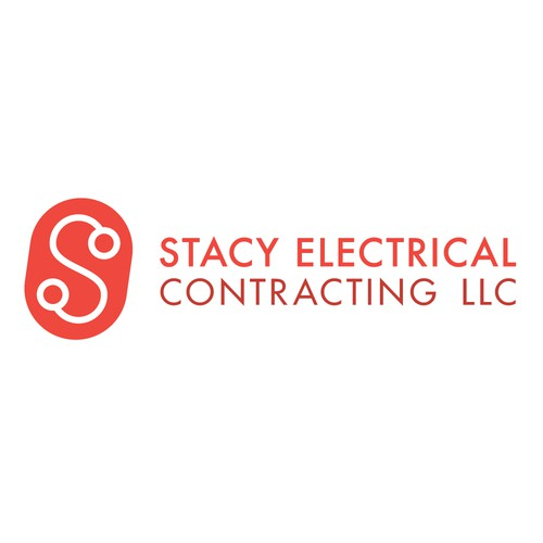 Contractor logo with the title 'Electrical Contractor Logo'