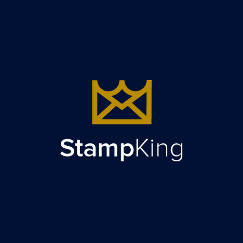 Mail design with the title 'StampKing'