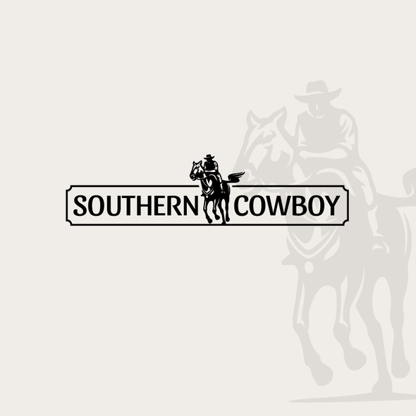 Rider logo with the title 'Southern Cowboy'