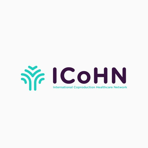Healthcare logo with the title 'ICoHN'